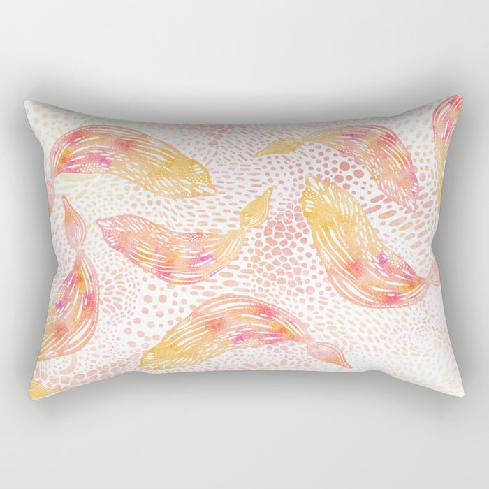 Kelp Dance Rectangular Pillow