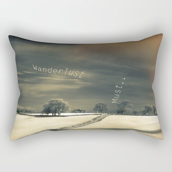 I Wander because... Rectangular Pillow