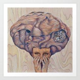 Atomic Memory Art Print