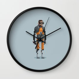 Man With a Crowbar Wall Clock