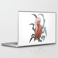 spider Laptop & iPad Skins featuring Spider by daimontribe