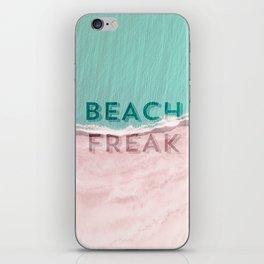 Beach freak iPhone Skin