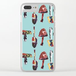 There's not Mush Room in here. Clear iPhone Case