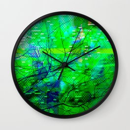Rejected < The NO Series (Green) Wall Clock