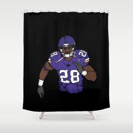 Adrian peterson Shower Curtain