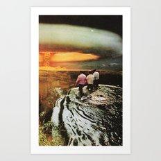 destiny's path Art Print