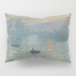 Claude Monet's Impression, Soleil Levant Pillow Sham