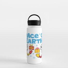 Peace on Earth Water Bottle