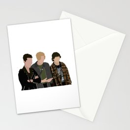 Reggie, Alex and Luke from Julie and the phantoms Stationery Cards