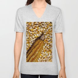 Yellow corn Unisex V-Neck