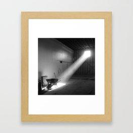 Light Study, Echo Park Framed Art Print