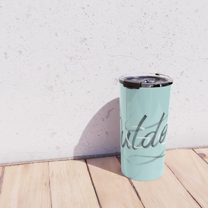 (Go) Outdoors Travel Mug