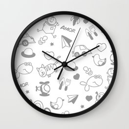 Memories of a child Wall Clock