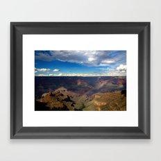 Grand Canyon National Park - Rainbow at South Rim Framed Art Print