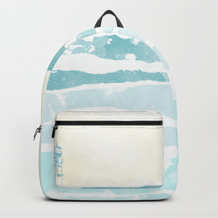 Sea waves Backpack