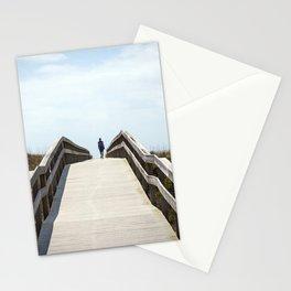 Ocracoke Pony Pen Boardwalk 2018 Stationery Cards
