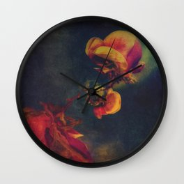Floral 1 Wall Clock