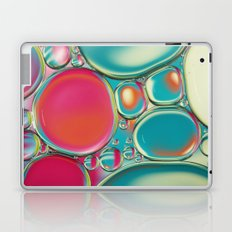 Retro Coloured Oil & Water Drops Laptop & iPad Skin