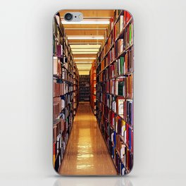 Library Books iPhone Skin