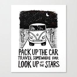 Adventure Bus Canvas Print