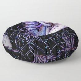 Still Nautilistening Floor Pillow