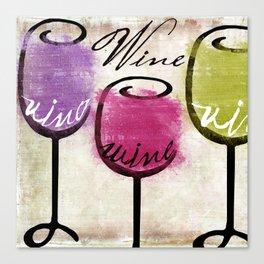 Wine Tasting Canvas Print