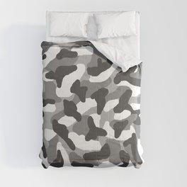Grey Gray Camo Camouflage Comforters