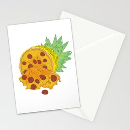 Pizza Pineapple Stationery Cards
