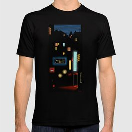 Late Night Neon Lights T-shirt