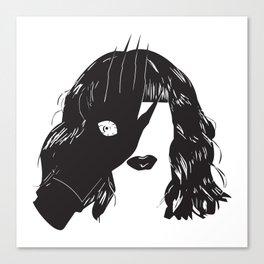 Yekaterina Petrovna Zamolodchikova Black&White Canvas Print