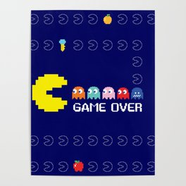 Mr. PacMan in Action Poster