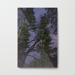 ANTI-SAKURA Metal Print