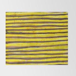 BUMBLE BEE SWIRL Throw Blanket