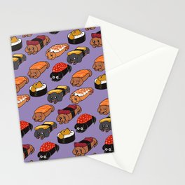 Sushi Daschunds Stationery Cards