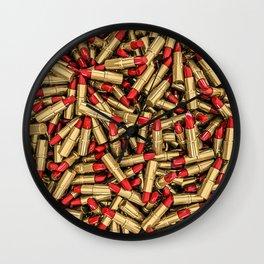 Lipstick Wall Clock