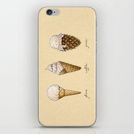 Ice Cream Cones iPhone Skin