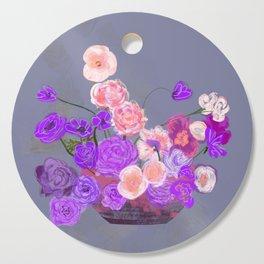 The arrangement in purple Cutting Board