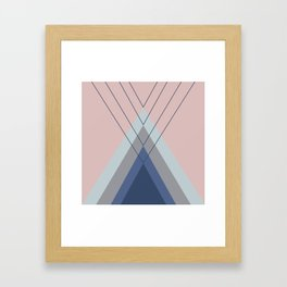 Iglu Pastel Framed Art Print