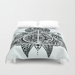 Deathly Hallows symbol Duvet Cover