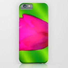 Little lightning tulip ... iPhone Case