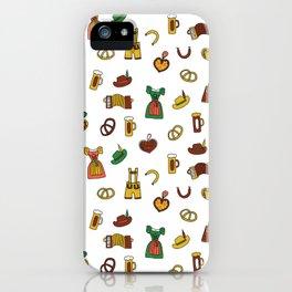 Oktoberfest Doodles iPhone Case
