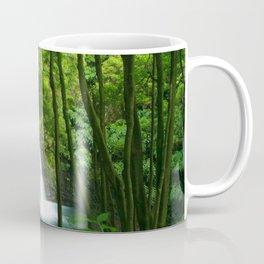 Waterfall in the Azores Coffee Mug