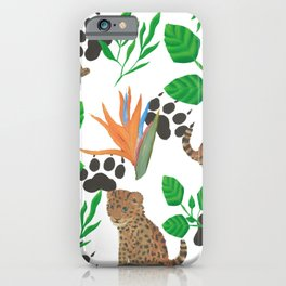 Jaguar Cub Print iPhone Case