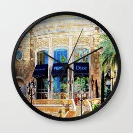Fashion Vegas Style Wall Clock