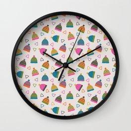 Beanie Print Wall Clock