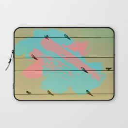 Birds of a Feather, Birds on Wires Laptop Sleeve