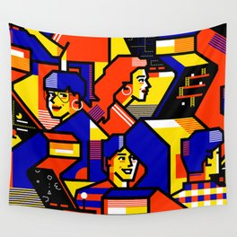 Arcade Wall Tapestry