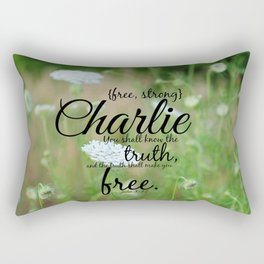 Charlie Rectangular Pillow
