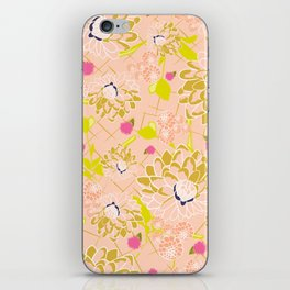 Energizing spring summer flowers iPhone Skin