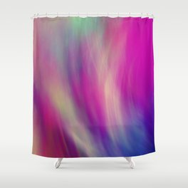 colour and light Shower Curtain